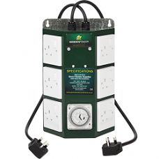 Green Power Professional 6 Way Contactor Timer